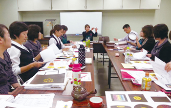 鹿児島製茶 会社の取組み 会議風景